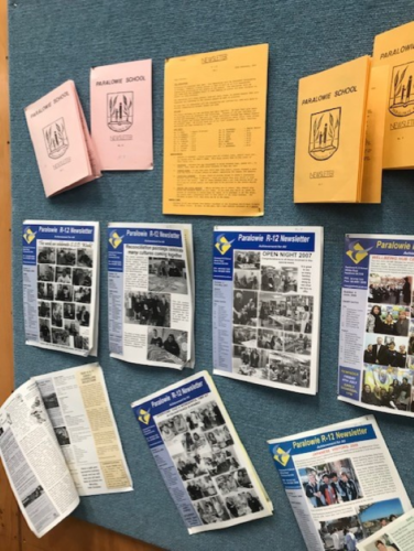 30 yrs of newsletters
